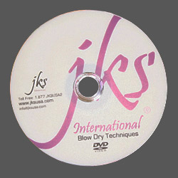 42 - JKS Blow Dry Techniques DVD
